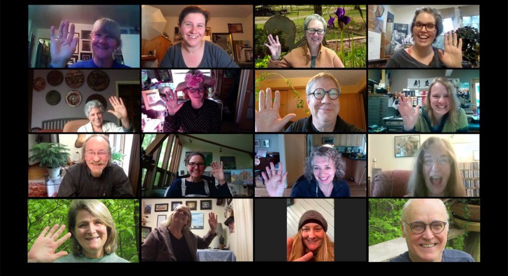 Zoom image of the artists of the Bloomington Open Studios Tour